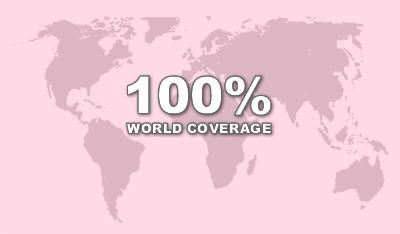 Iridium GO Satellite HotSpot With Worldwide Coverage Telestial - Go phone coverage map