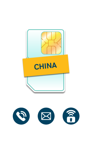 China & International SIM Card