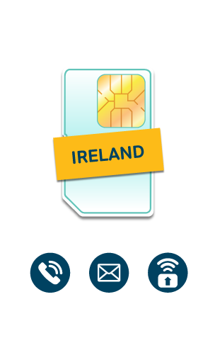 Ireland & Europe SIM Card