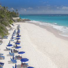 Crane Beach in Barbados