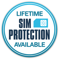 Lifetime International SIM Protection