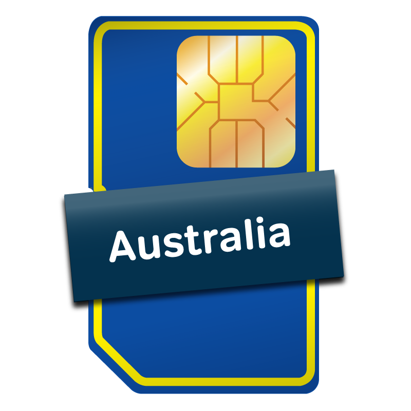 Australia & New Zealand SIM Card