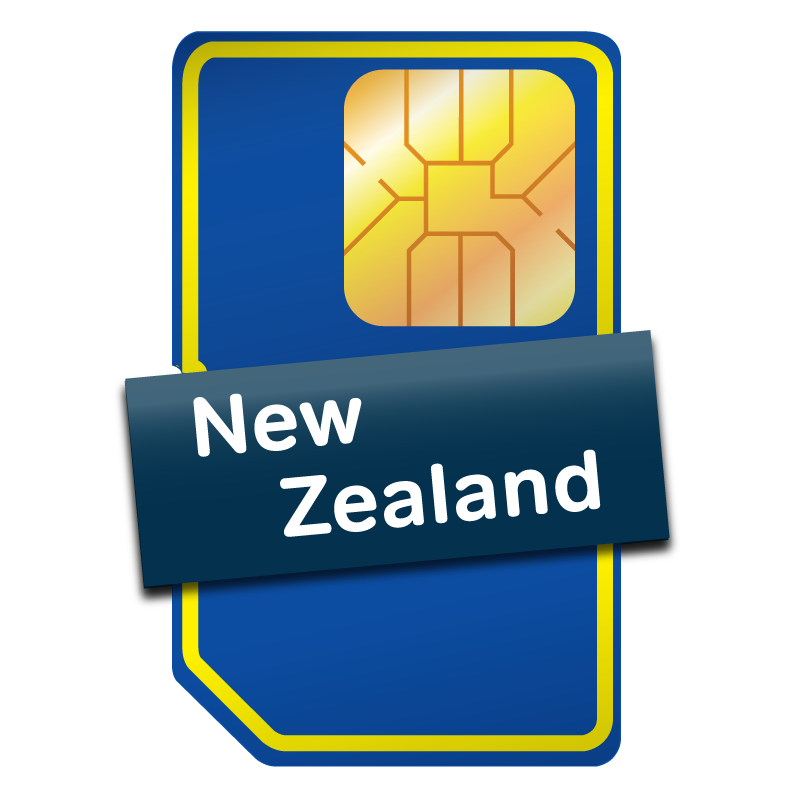 New Zealand & Australia SIM Card