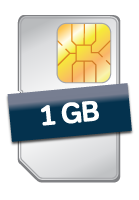 Data SIM with 1GB