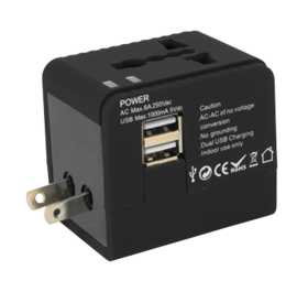 USB Universal Travel Adapter - 63% OFF