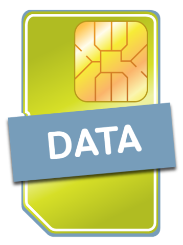 DATA Sim Icon